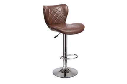 Барный стул Hoff Кадиллак 80367080, серебристый/коричневый