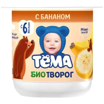 Биотворог Тёма с бананом 4,2 %, 100 г БЗМЖ
