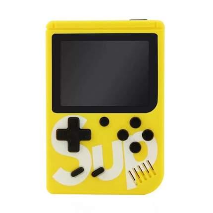 Игровая приставка SUP Game Boy, желтая (400 встроенных игр)