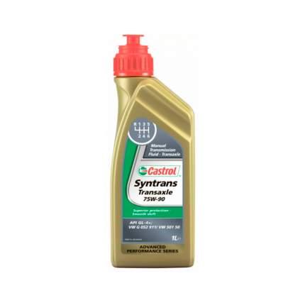 Трансмиссионное масло Castrol Syntrans Transaxle 75W-90 GL-4 1л арт. 1557C3