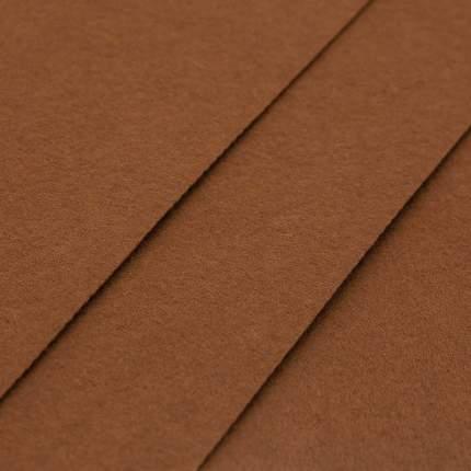 Фетр жесткий, листовой Астра, 1,0мм, 160 гр, 20*30см, 3шт/упак, коричневый