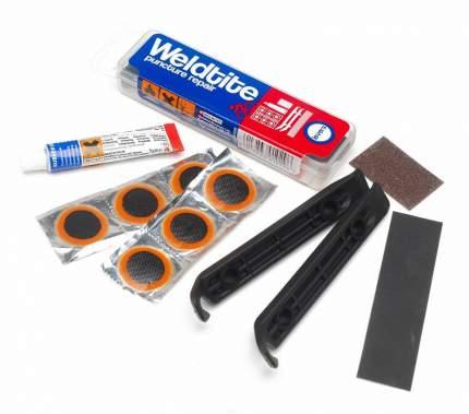 Аптечка 6 суперзаплаток+клей+шкурка+2монтировки (12) WELDTITE