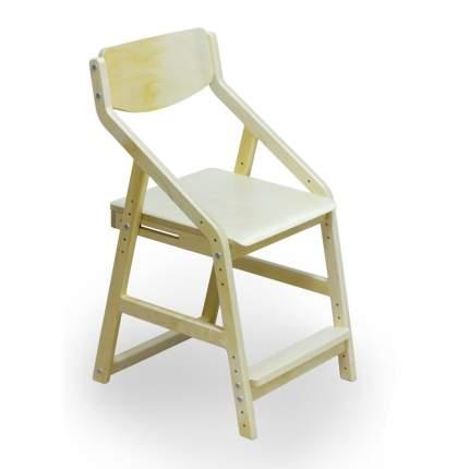 Детский растущий стул 38 Попугаев Робин Wood, Натуральный