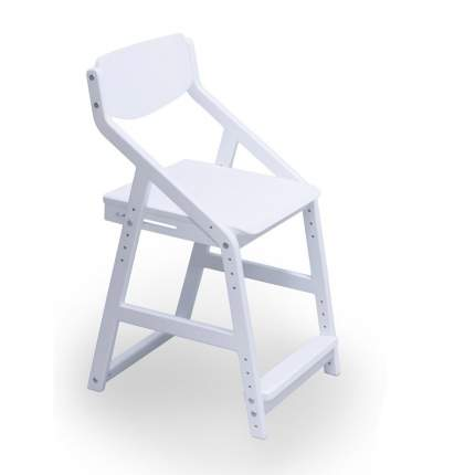 Детский растущий стул 38 Попугаев Робин Wood, Белый
