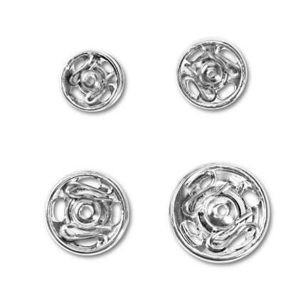 PRYM PRYM Кнопки пришивные, 6-11 мм, серебристые, 341270