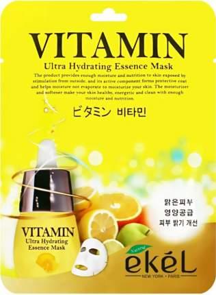Маска для лица Ekel Vitamin Ultra Hydrating Essense Mask 25 г