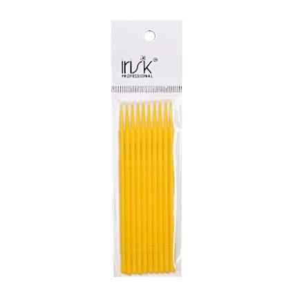 Микрощеточки IRISK в пакете, L, желтые, 10 шт.