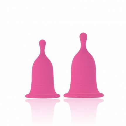 Менструальные чаши Rianne S Cherry Cup, розовые
