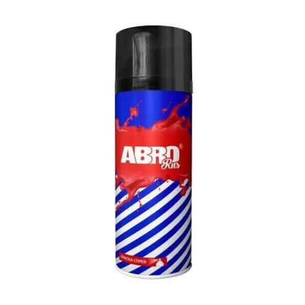 Краска-спрей ABRO № 004 SPO004R чёрная матовая 0,473 л