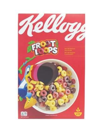 Готовый завтрак, Froot Loops, Kellogg's, 375г