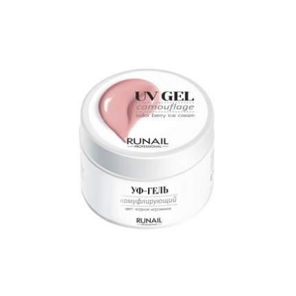 Камуфлирующий UV-гель RuNail ягодное мороженое 15 г