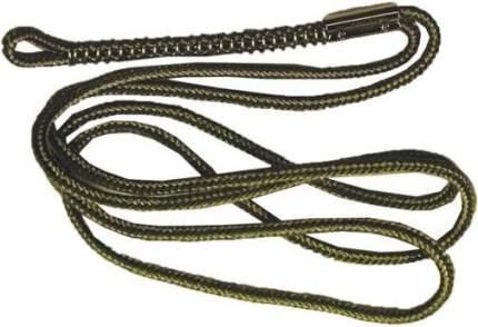 Шнурок плетеный на один манок FAULK`S с фиксатором-пружиной из нержавеющей стали SING