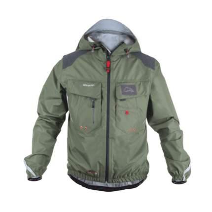 Куртка   GRAFF  CLIMATE  рыболовная с капюшоном ( Bratex 10000) цвет серый 605-В-СL/L