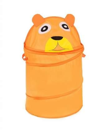 Складная корзина для игрушек Markethot Мишка, 55х34 см