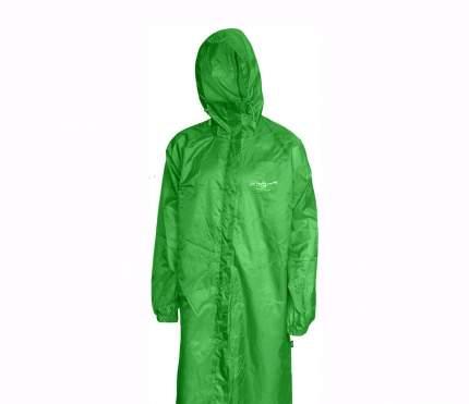 Плащ-дождевик р-р 46 зеленый Снаряжение (Радуга)