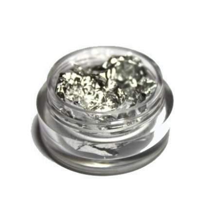 In'Garden, Фольга для дизайна ногтей, серебро, 1 г