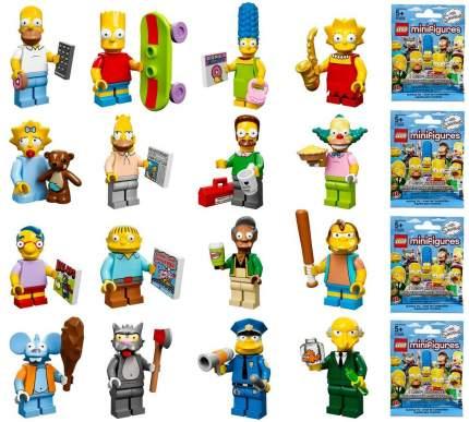 Случайная минифигура серии Симпсоны Minifigures Lego 71005