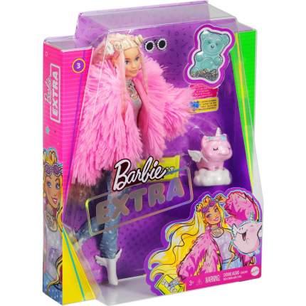 Кукла Экстра в розовой куртке Barbie GRN28
