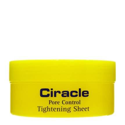 Салфетки для сужения пор Ciracle Pore Control Tightening Sheet 40 шт