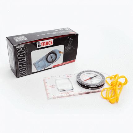 Компас с увеличительным стеклом BTrace A0285