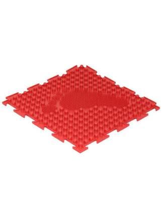 Модульный коврик Ортодон елочка мягкая красный левый