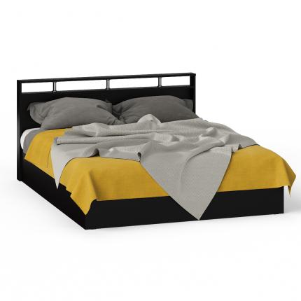 Кровать 1600 СВК Камелия венге/дуб лоредо, 163,5х203,5х88,2 см