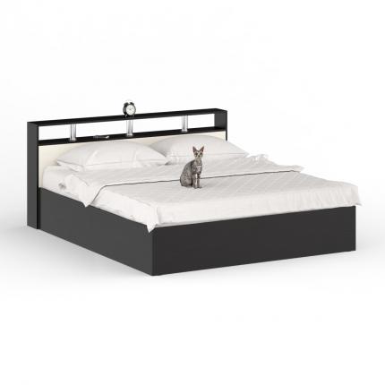 Кровать 1800 СВК Камелия венге/дуб лоредо, 183,5х203,5х88,2 см