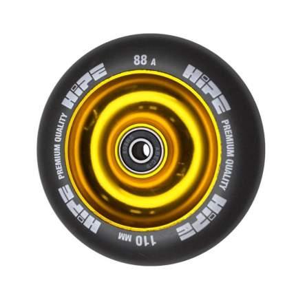 Колесо HIPE Solid 110mm Золотой/чёрный