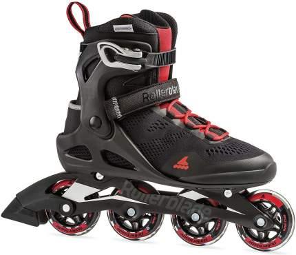Роликовые коньки Rollerblade 2020 Macroblade 80 Black/Red 28 см