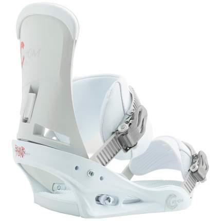 Крепление для сноуборда Burton Custom 2019, белое, L