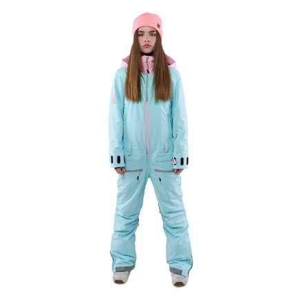 КОМБИНЕЗОН COOL ZONE MOON KN1117/26/23 2021 светло-розовый/аквамарин S