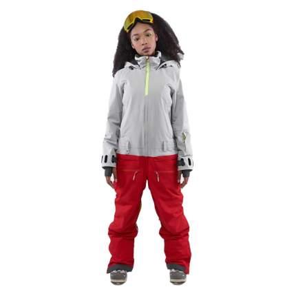 КОМБИНЕЗОН COOL ZONE MOON KN1116/36/04 2021 холодный серый/красный XS