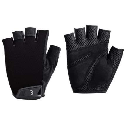 Велоперчатки BBB Cooldown, black, M