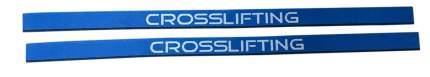 WINNER Лямки тренировочные Crosslifting, 2 шт, цвет: синий