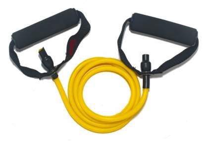 OriginalFitTools Эспандер трубчатый 5*9*1350 мм FT-RTE, 1 шт, цвет: желтый