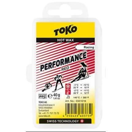 Низкофтористый парафин Toko 2020-21 Performance Red 40 G Red