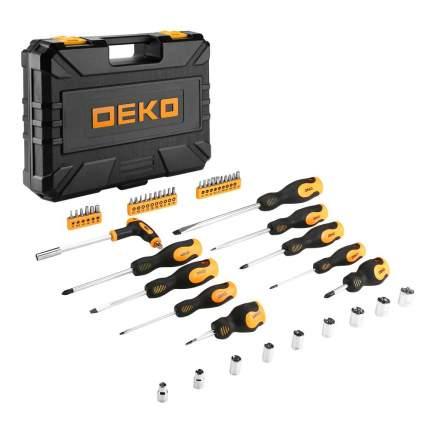 Набор отверток DEKO TZ46 в чемодане (46 предметов)
