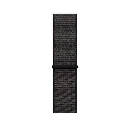 Нейлоновый ремешок Case-House для Apple Watch 42-44 мм, Чёрный