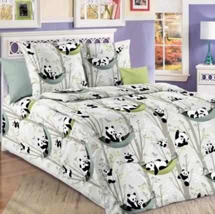 Покрывало Веселые панды из бязи 140х200 стеганое , Текс-Дизайн