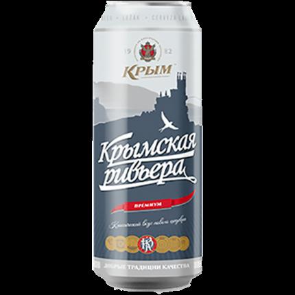 Пиво Крымская Ривьера 0,45 ЖБ/12