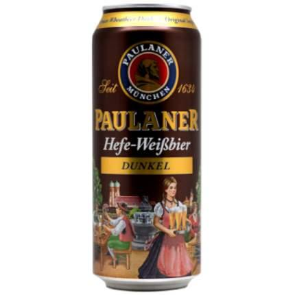 Пиво Пауланер  Дункель  0,5 л.жб
