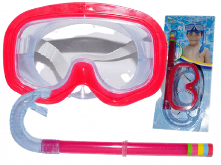 Маска для плавания Sprinter 8568 красная
