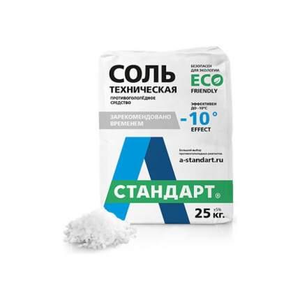 А Стандарт Противогололедный реагент «А Стандарт - Соль техническая» (50 кг.)