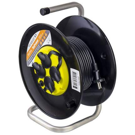 Удлинитель Perfeo Ru Power 5 розеток, 30 м, Yellow/Black (PF_B4674)