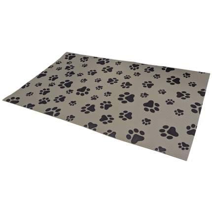 Коврик для кошек и собак ВИЛИНА 6915 ПВХ, серый, 100x61 см