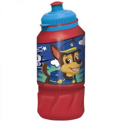 Бутылка пластиковая (спортивная 420 мл). Щенячий патруль. Веселый