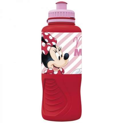 Бутылка пластиковая (спортивная, эргономичная, 400 мл). Минни Электрическая кукла