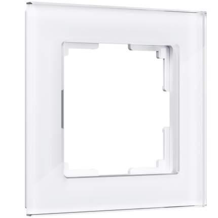 Рамка на 1 пост Werkel (белый,стекло) W0011101