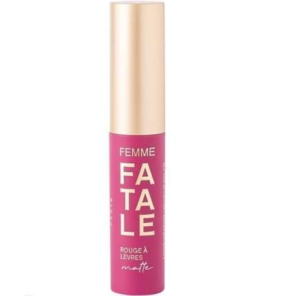 Устойчивая жидкая матовая помада для губ Vivienne Sabo Femme Fatale, тон 10