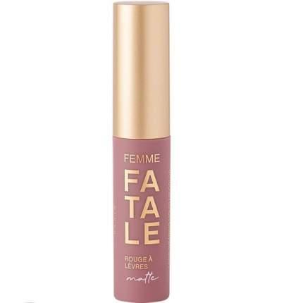 Устойчивая жидкая матовая помада для губ Vivienne Sabo Femme Fatale, тон 03